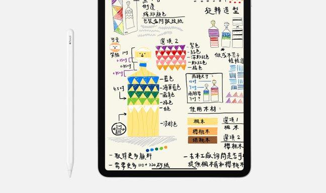 全系列iPad皆可支援Apple Pencil使用,可說是速寫筆記最佳解決方案。...