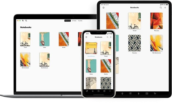 免費下載的「Notebook」以實體筆記本的概念設計,並以「文件記錄卡」的方式幫...
