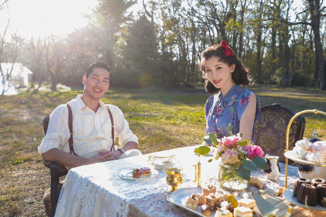 林志玲和AKIRA婚姻幸福。圖/愛貝克思提供