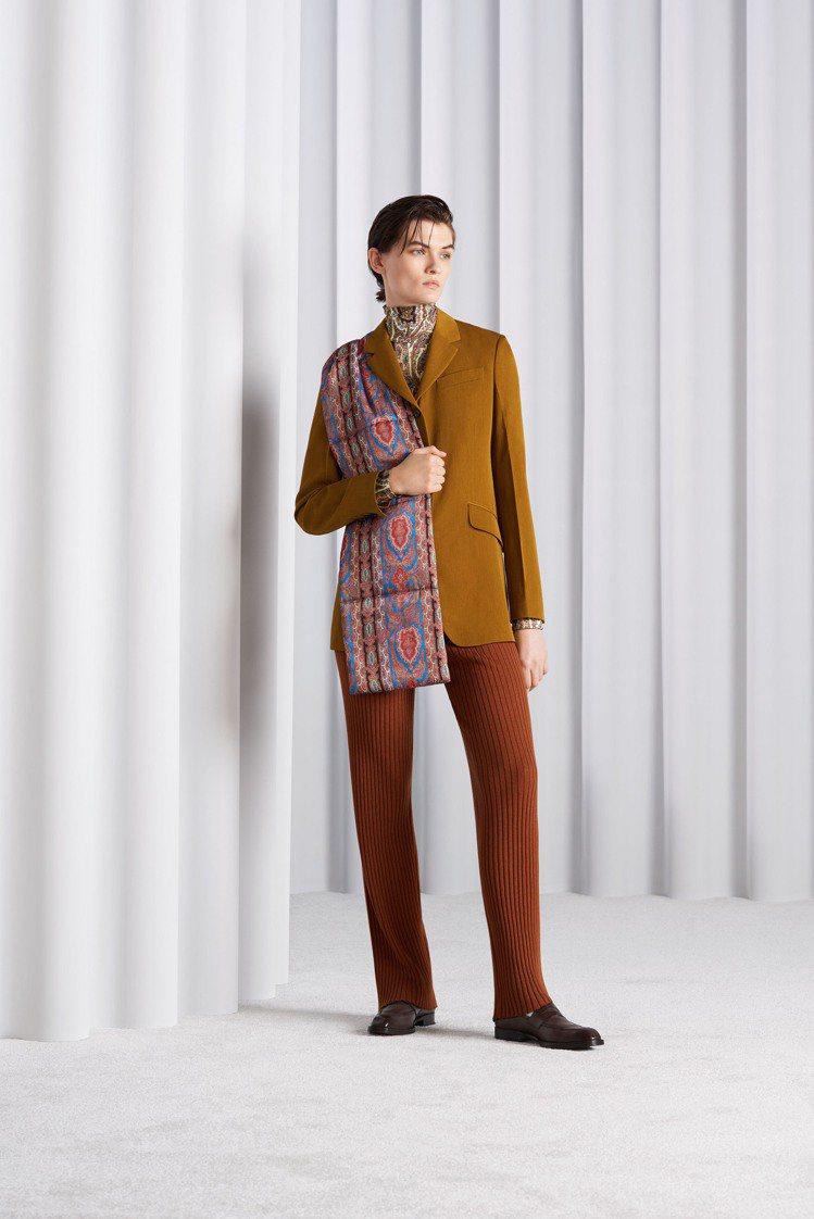 Paul Smith發表2021秋冬女裝系列。圖/Paul Smith提供