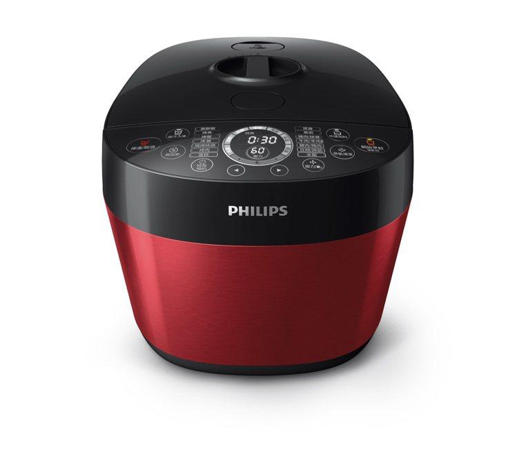 飛利浦雙重溫控智慧萬用鍋HD2143。圖/飛利浦提供