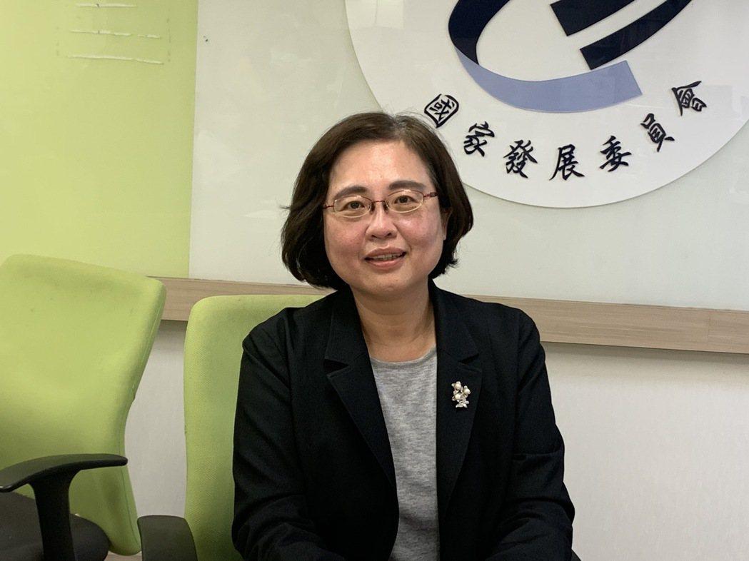 國發會法制協調中心主任楊淑玲。記者賴昭穎/攝影