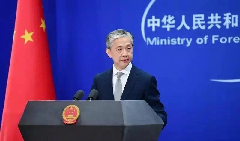 大陸外交部發言人汪文斌。圖/取自中新社