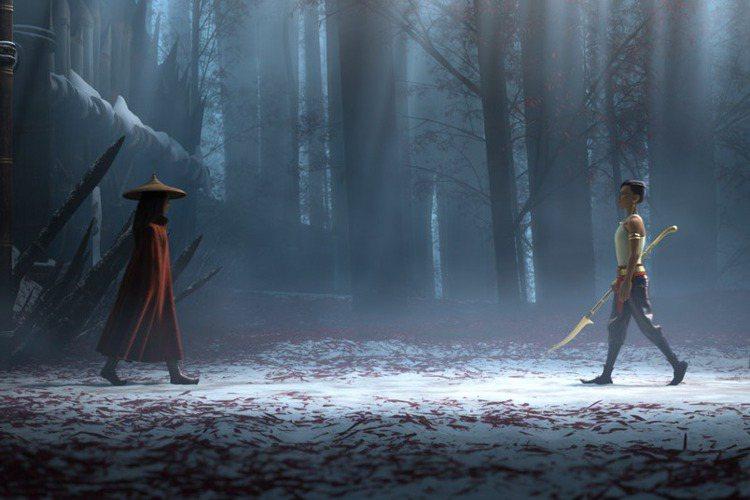 迪士尼公主最神奇的一點,就是不管走到哪都能引吭高歌,但是「尋龍使者:拉雅」的拉雅公主打破了這種刻板印象,她完全沒有開口唱歌,反而練就一身俐落身手,不但能飛簷走壁,還會揮舞兩根魔杖戰鬥,甚至能騎著一隻...