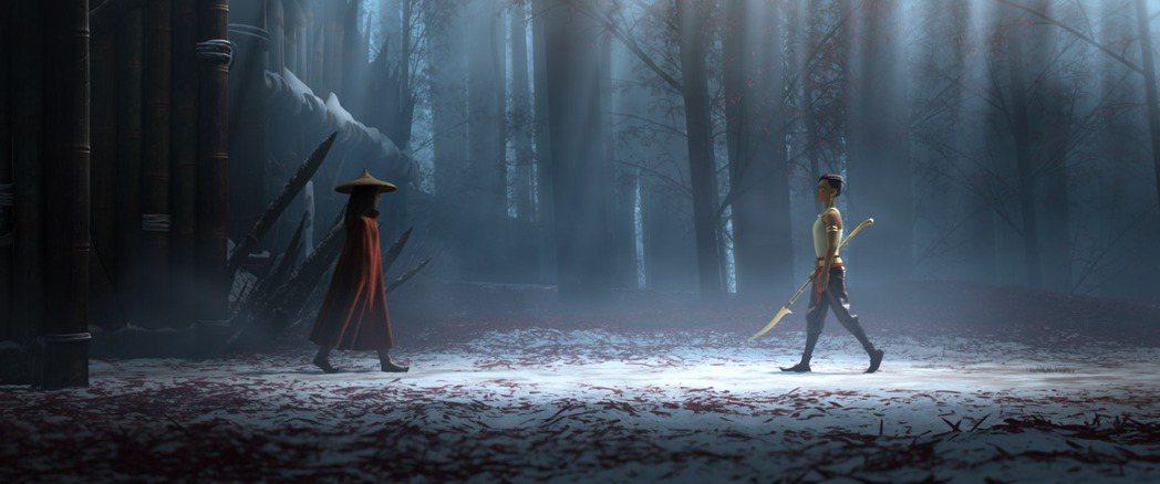 「尋龍使者:拉雅」。圖/迪士尼提供
