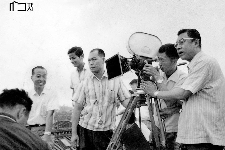 《揚子江風雲》工作照。 圖/開放博物館