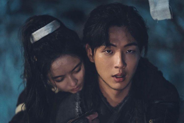 金志洙在「月升之江」中飾演男主角,戲份吃重。圖/擷自IG