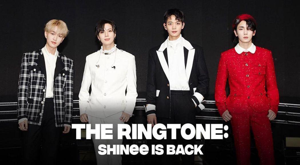 SHINee推出新專輯。圖/擷自IG