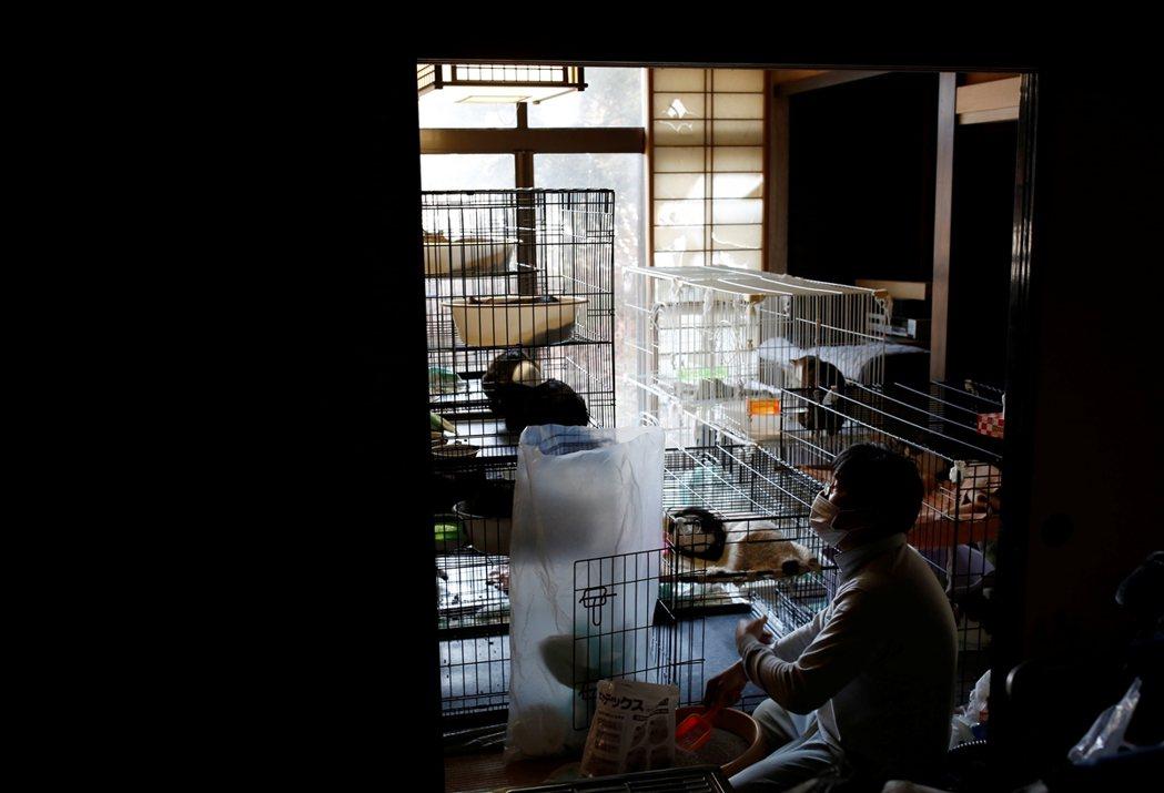 照理來說,加藤的住宅仍屬「歸還困難」的限制區,他只能偶爾回來拜訪自家,不能在裡頭...