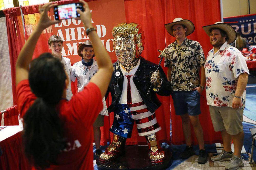 美國最大的保守派政治活動「保守派政治行動大會」(CPAC)2月26日開始在佛州奧蘭多舉行。 圖/法新社