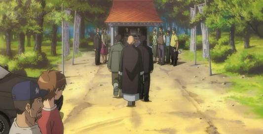 動漫《銀之匙》的農家專門為賽馬辦了葬禮