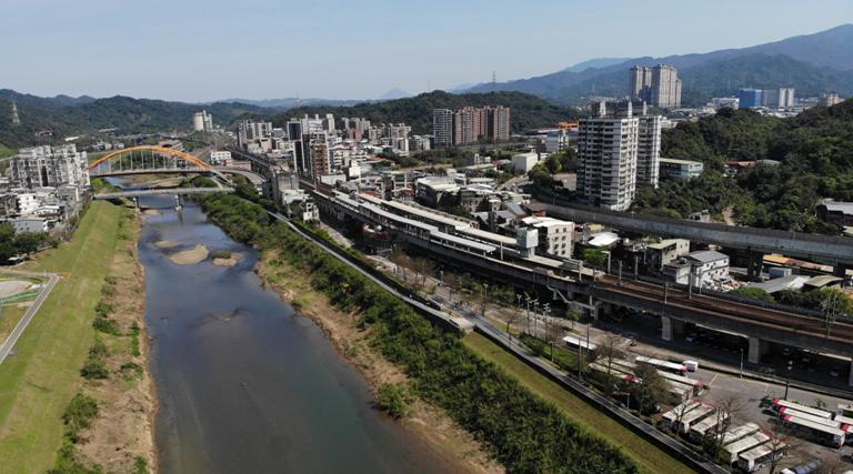 汐止基隆河景。東京綫上/提供