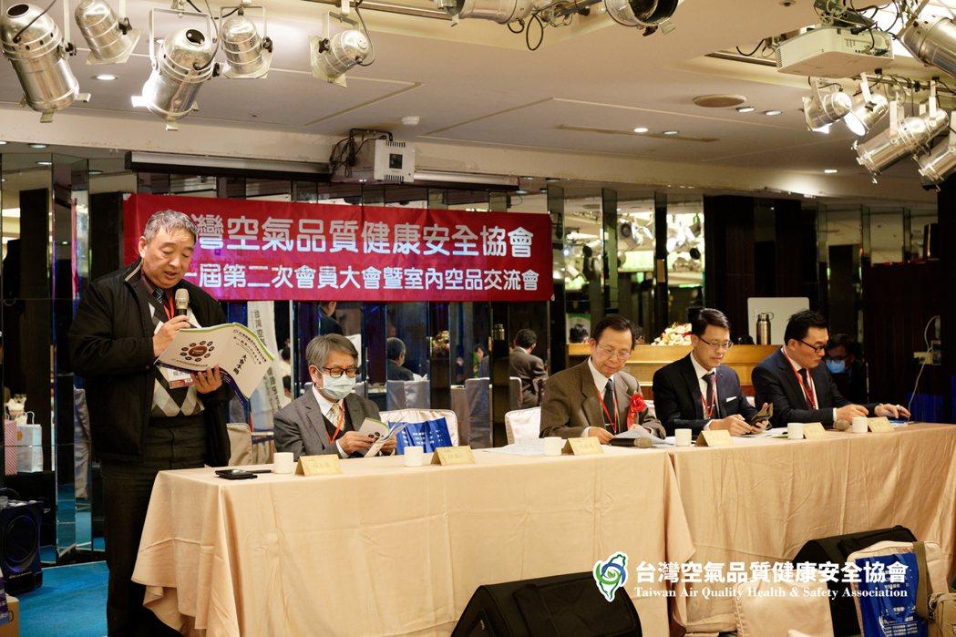 空安會會員大會暨室內空品政策與技術交流會活動席開27桌的盛會,創下空氣淨化產業的...