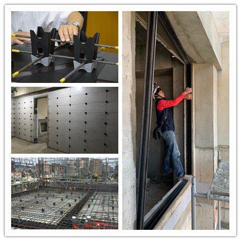 定泰建設以創新的建材及工法,讓每個建案都成為經典。圖為《公園翫》建案施工及室裝工...