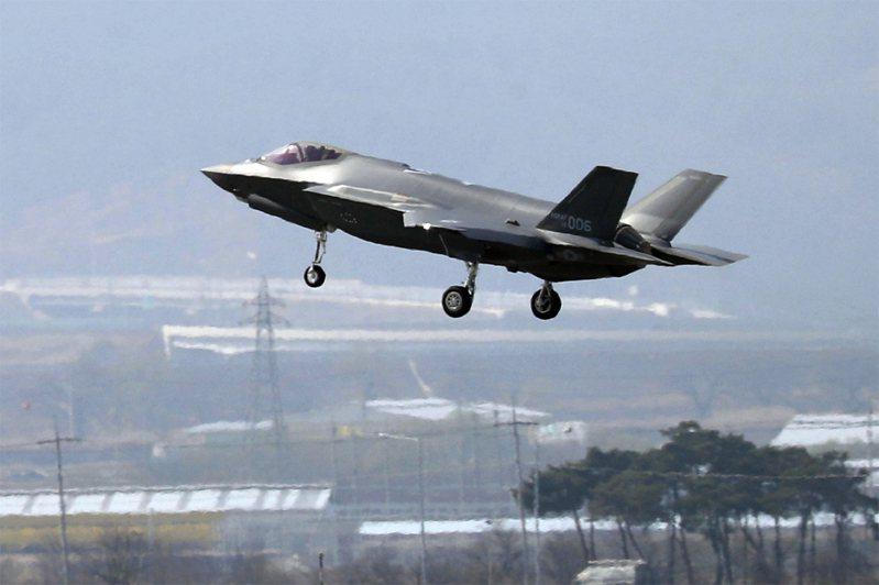 F-35匿蹤戰機。美聯社