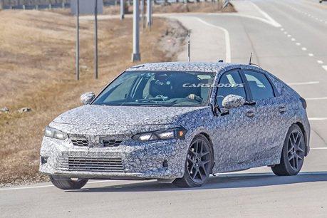 掀背車當然不缺席 大改款Honda Civic Hatchback間諜照曝光!