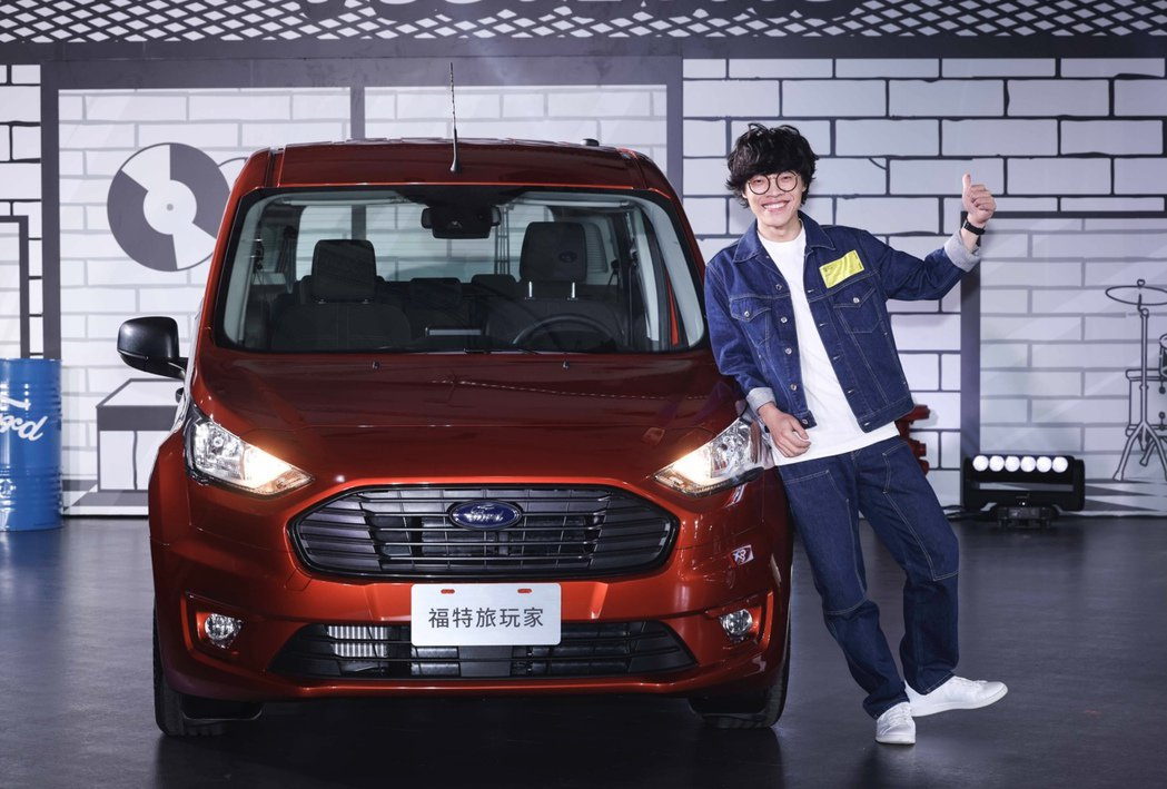 盧廣仲首接汽車代言,並為車款量身打造新歌「Life Box」。記者王聰賢/攝影