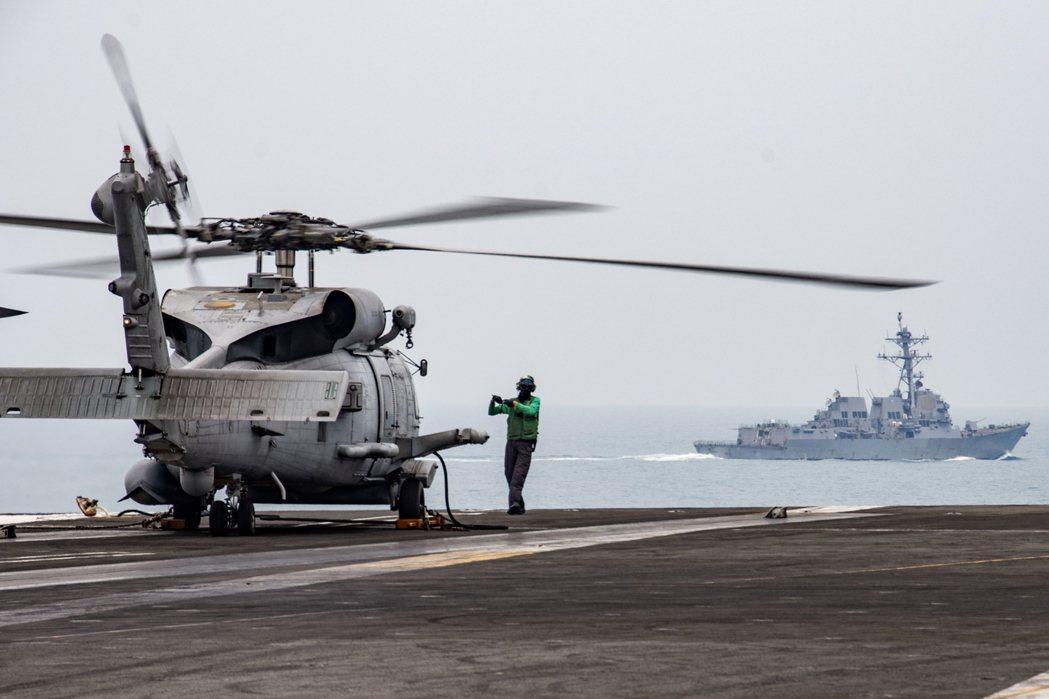 日經報導美國印太司令部建議在第一島鏈部署反中武力。  美聯社