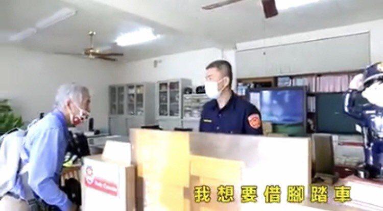 台南市六甲落羽松季警方投入600人次維持交通秩序。記者吳淑玲/翻攝