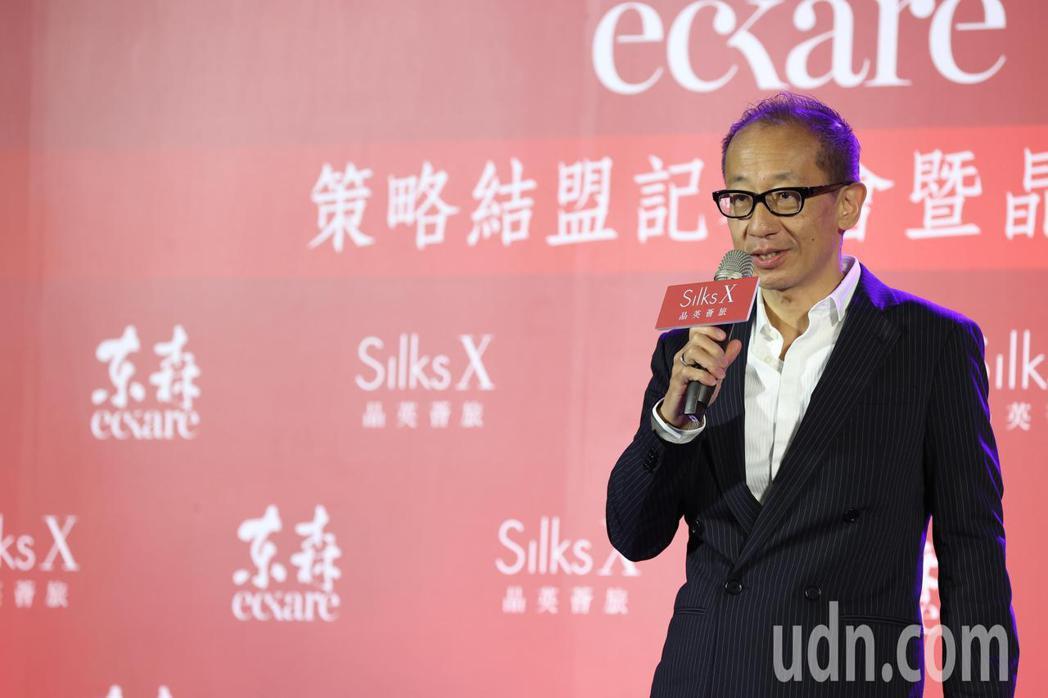 晶華酒店董事長潘思亮。記者葉信菉/攝影