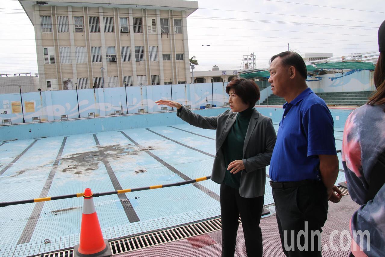 活化台東大學泳池 縣府:明年夏天可啟用開放