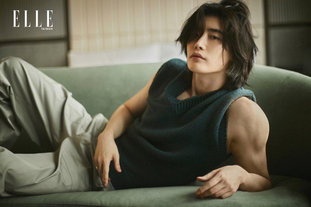 李鍾碩最近為了新作品瘦身。圖/ELLE提供