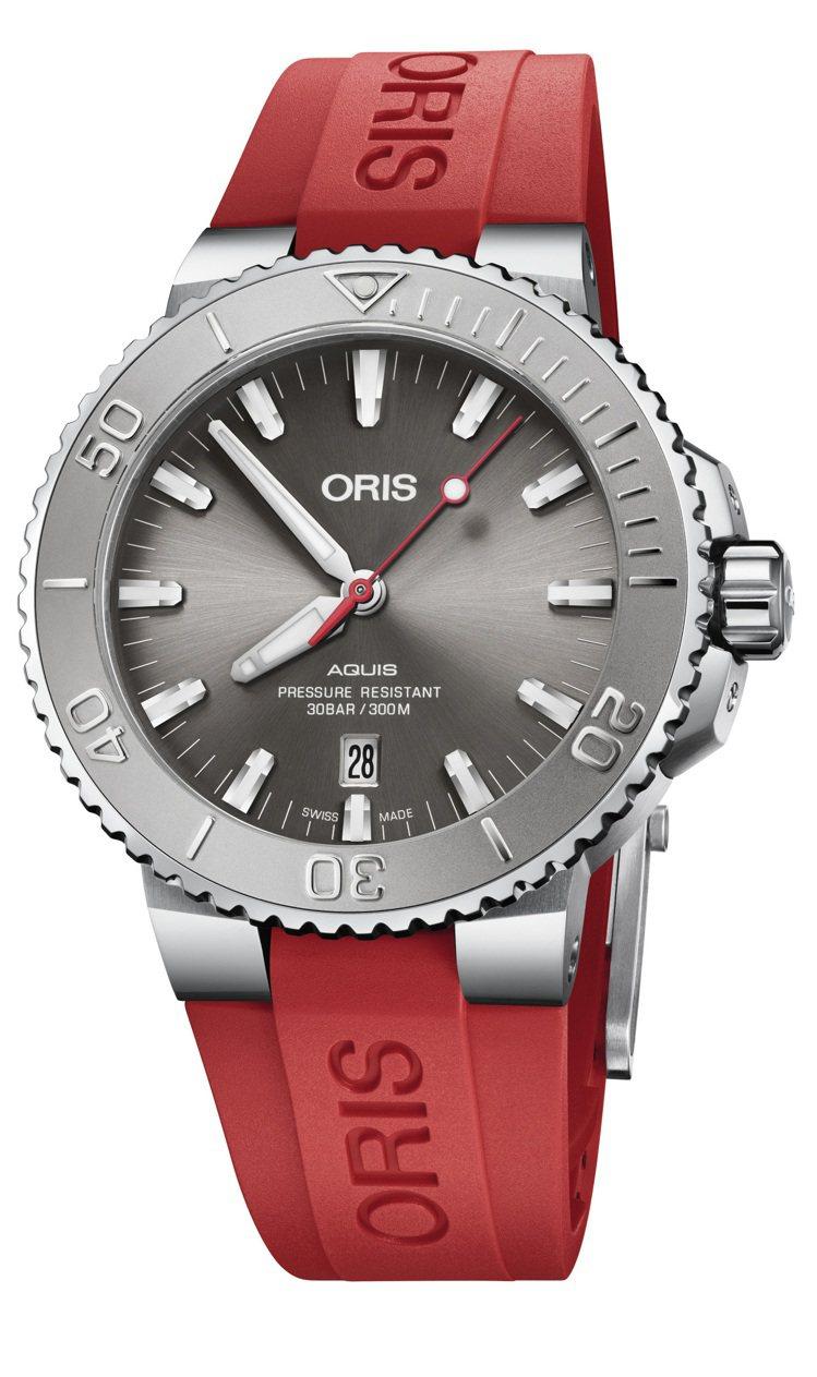 喜歡鮮艷紅色?Oris Aquis Relief日期潛水表,與Ernst Bro...