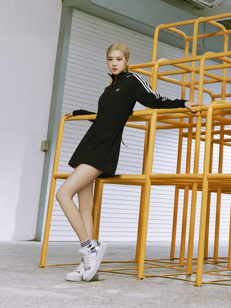 BLACKPINK成員ROSE演繹adidas Originals全新春季女生系...