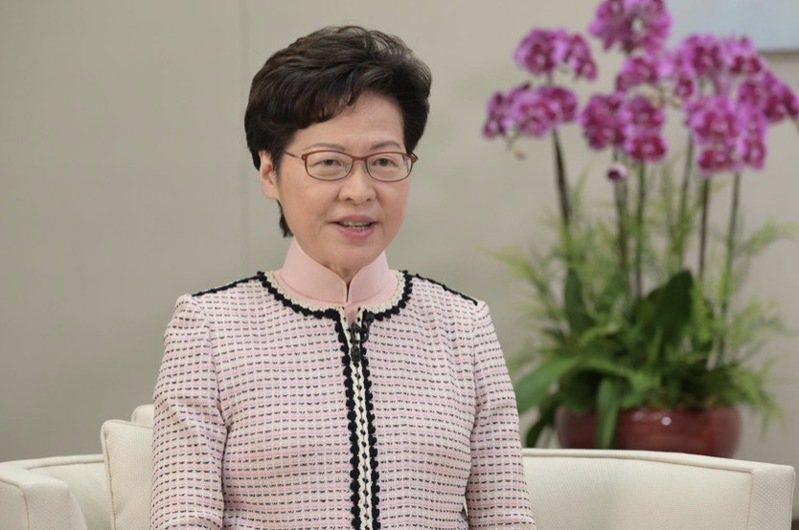 香港特首林鄭月娥。圖/央視