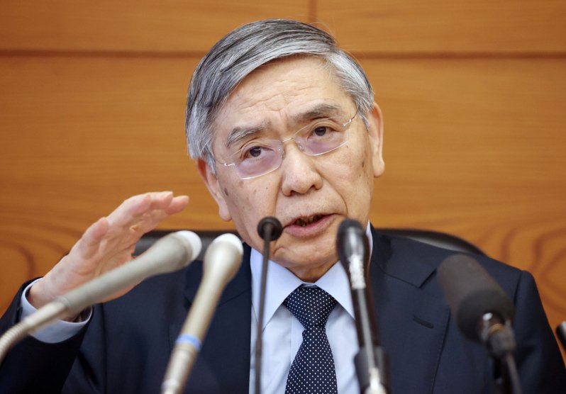 日本央行總裁黑田東彥。  歐新社