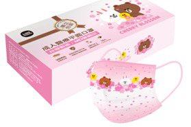 7-11「LINE FRIENDS、三麗鷗口罩」又來了!粉嫩櫻花款可愛必收