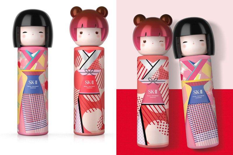 SK-II青春露春日娃娃和服限定版/單瓶售價6,575元。圖/SK-II提供