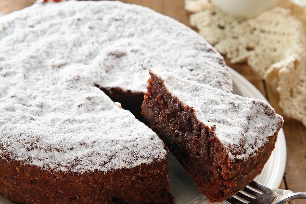 必學的伴手禮/無麵粉巧克力杏仁蛋糕、芒果杏仁奶凍