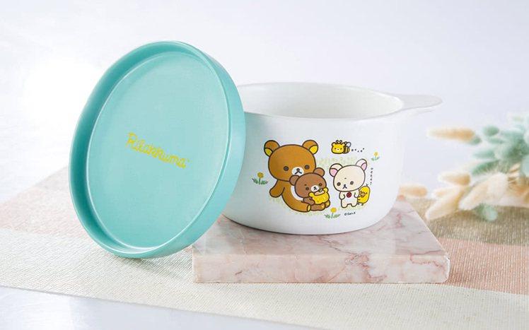 momo購物網「拉拉熊集點活動」第2彈推出「拉拉熊小清新陶瓷碗盤組」,換購點數3...