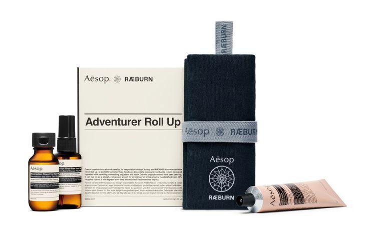 Aesop & RÆBURN的「探險家隨行組」,1,900元,3月8日上...
