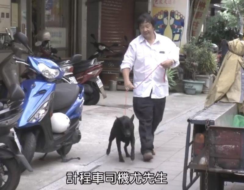 高雄市前市長韓國瑜每星期六播出的公益影片「韓先生來敲門」,明天要造訪救援照顧流浪動物20年的計程車司機尤河清。圖/翻攝「韓先生來敲門」預告影片