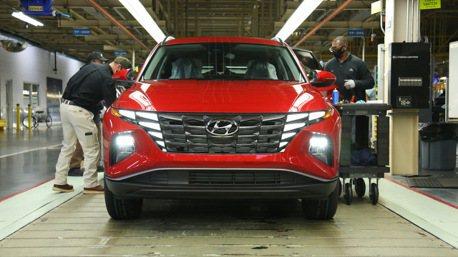 第四款美國製的現代汽車 新世代Hyundai Tucson阿拉巴馬正式投產!