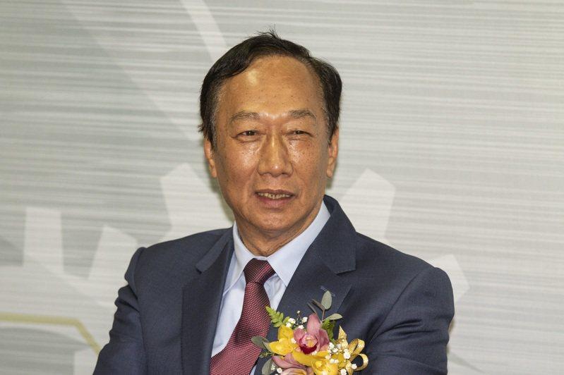圖為鴻海創辦人郭台銘。報系資料照片