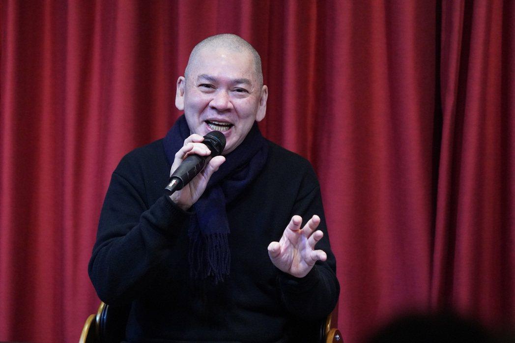 導演蔡明亮6日應邀到國家電影及視聽文化中心出席「閱讀蔡明亮的影像與咖啡」新書導讀