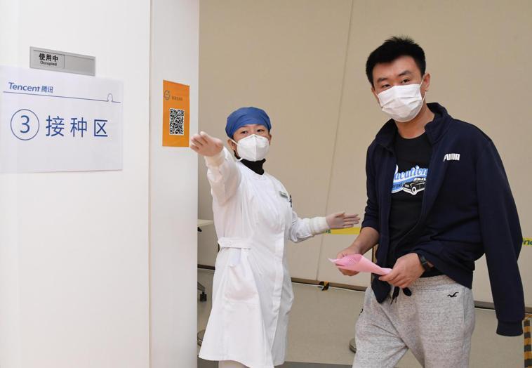 官方數據顯示,截至2月底,中國大陸累計接種COVID-19疫苗5200多萬劑次,...