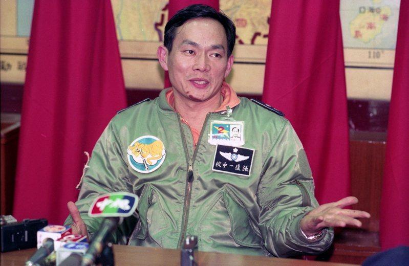 1993年3月6日,一架編號5664號RF-104G偵察機,在例行飛行訓練時發生發動機故障墜毀在新竹縣尖石鄉偏遠的司馬庫斯山區,飛行員張復一跳傘逃生。圖/聯合報系資料照片