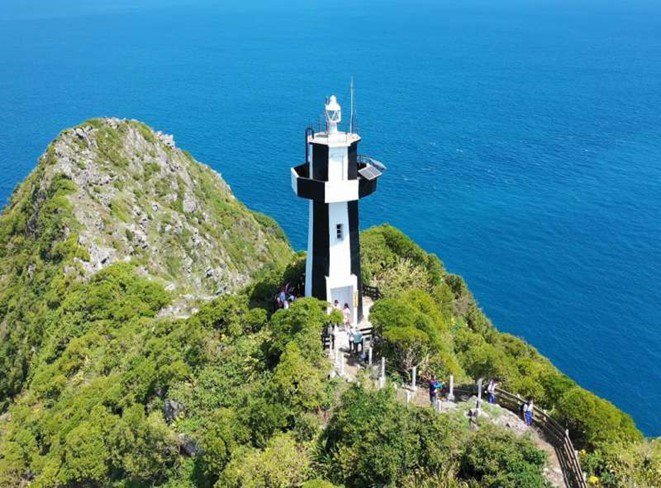 台灣龍珠基隆嶼3月15開放登島,挑戰登頂360度獨特海景。圖/基隆市政府提供