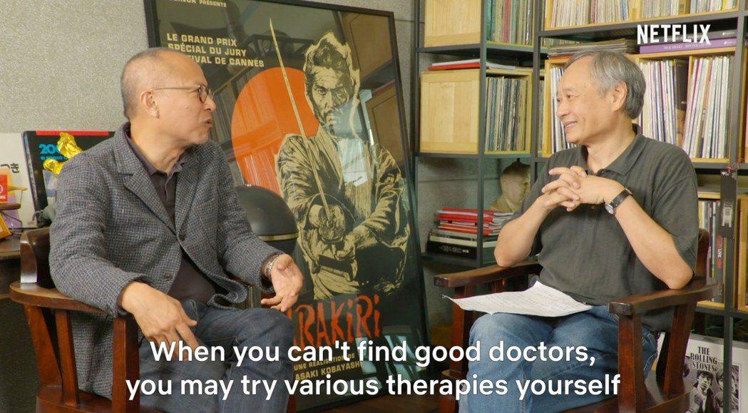 李安與鍾孟宏對談。圖/摘自Indiewire