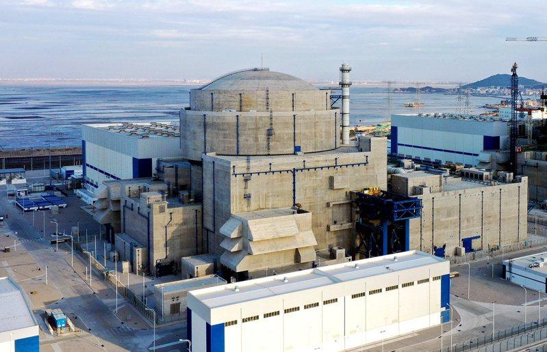 圖為今年1月底投入運營的中核集團福建福清核電5號機組。中新社