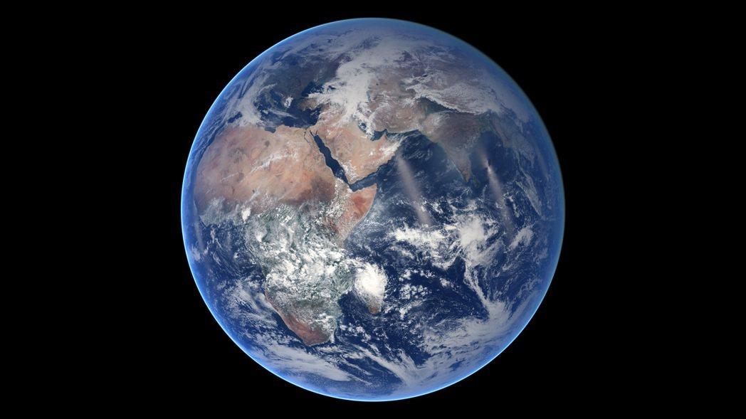 澳洲科學家發現地球內地核裡還有更深一層結構。法新社