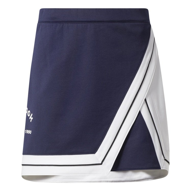 Reebok 5252 by O!Oi系列女款撞色短裙2,280元。圖/Reeb...