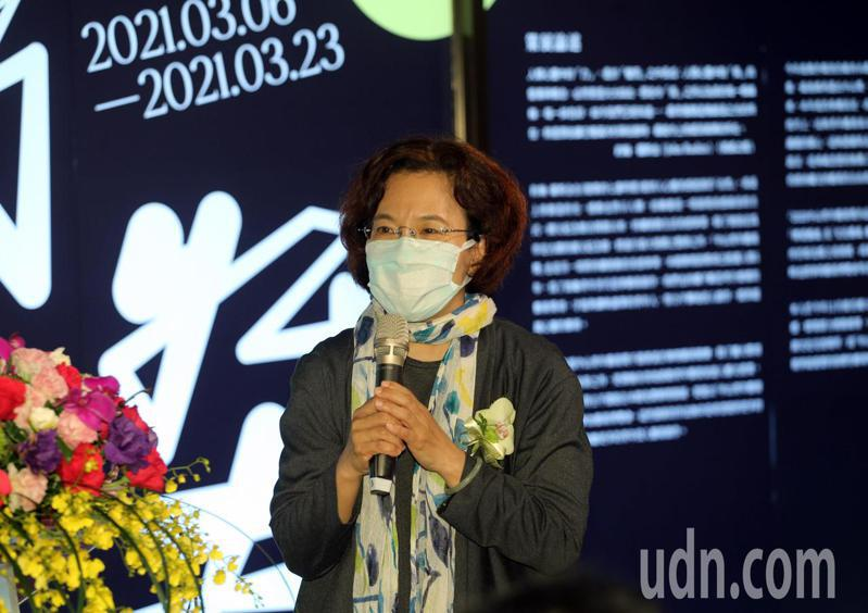高雄市文化局副局長簡美玲,希望未來能與國父紀念館增加藝術交流。記者劉學聖/攝影