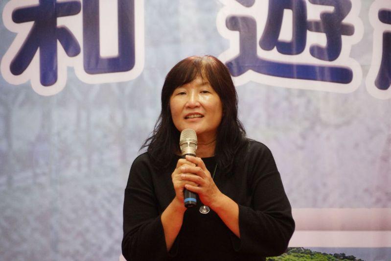 三和社區劉秀鳳理事長推動攝影競賽與產業活化。圖/新北市農業局提供