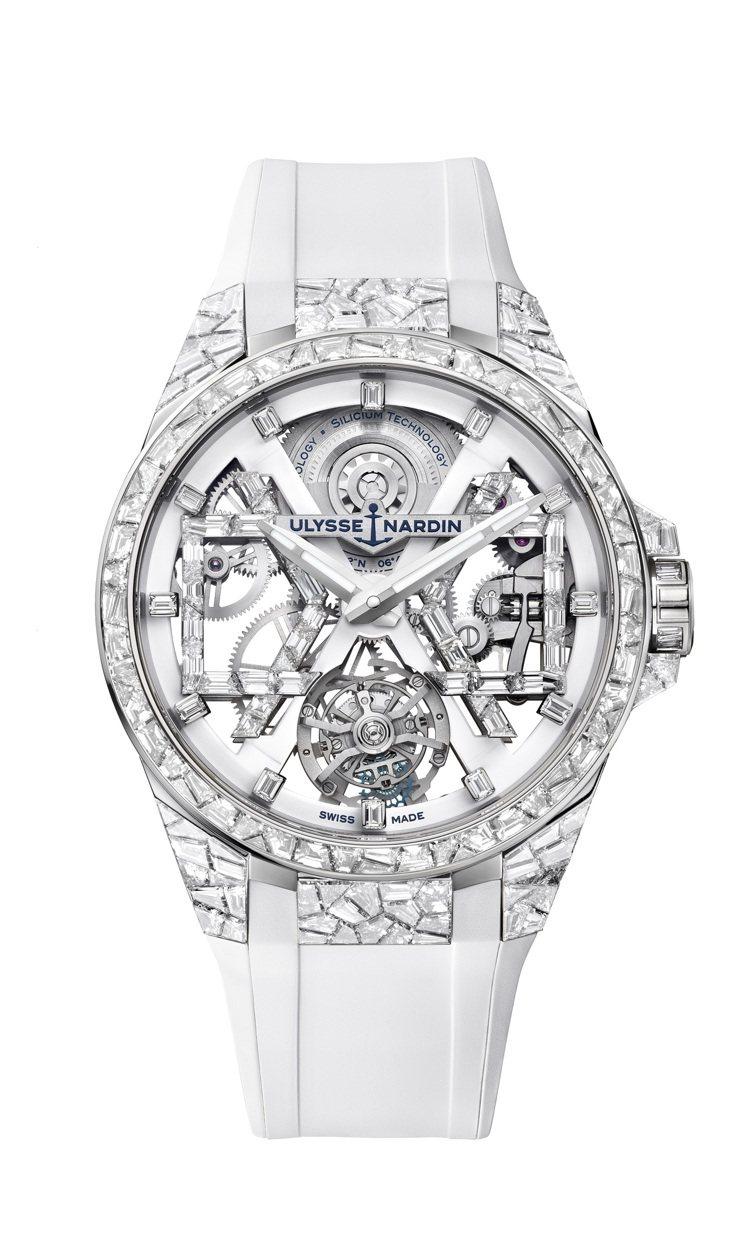 Ulysse Nardin Sparkling Blast高級珠寶腕表將限量發行...