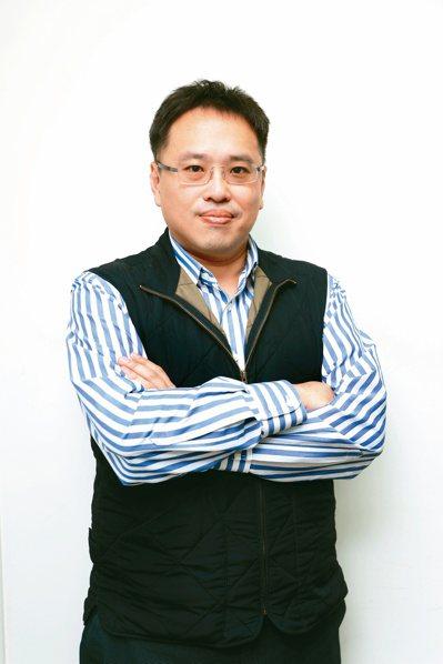 精拓生技執行長陳柏翰。記者蘇健忠/攝影